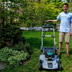 Northampton High School junior goes all-solar with lawn care business