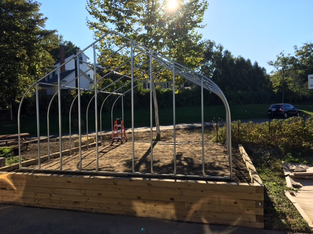 New JSS Greenhouse Construction