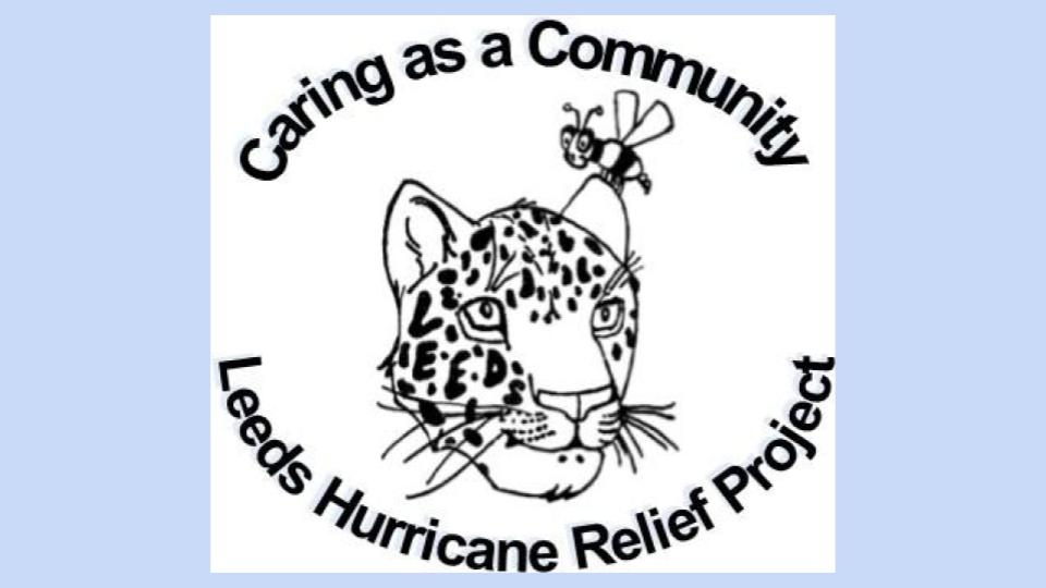 Leeds Hurricane Relief Fund Raising Efforts