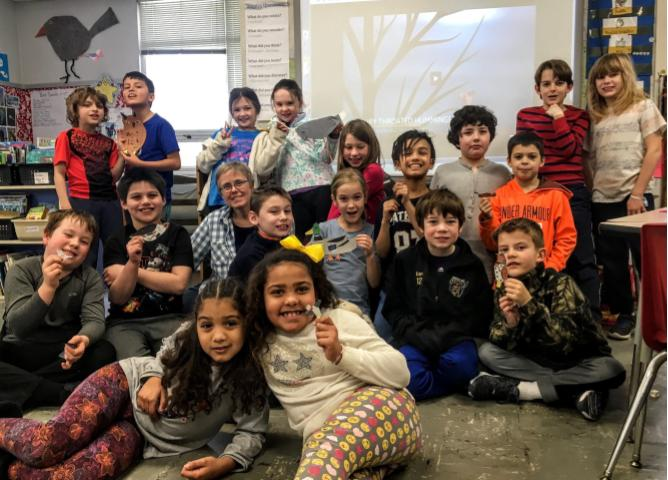 Ms. Bachman's Bird Adaptation Project – using stop motion animation and WeVideo