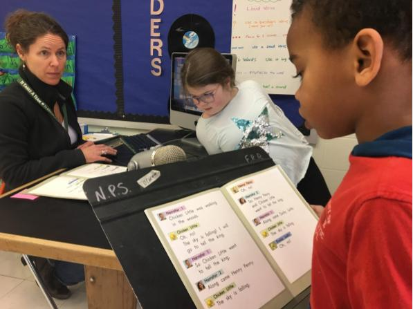 """Podcasting with Ms. O'Connor – """"Chicken Little"""", read by Felix, Mia and Hazel!"""