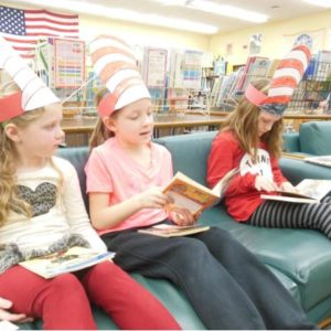 RK Finn Ryan Road Elementary School and Leeds Elementary participates in Read Across America