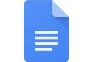 image of google doc