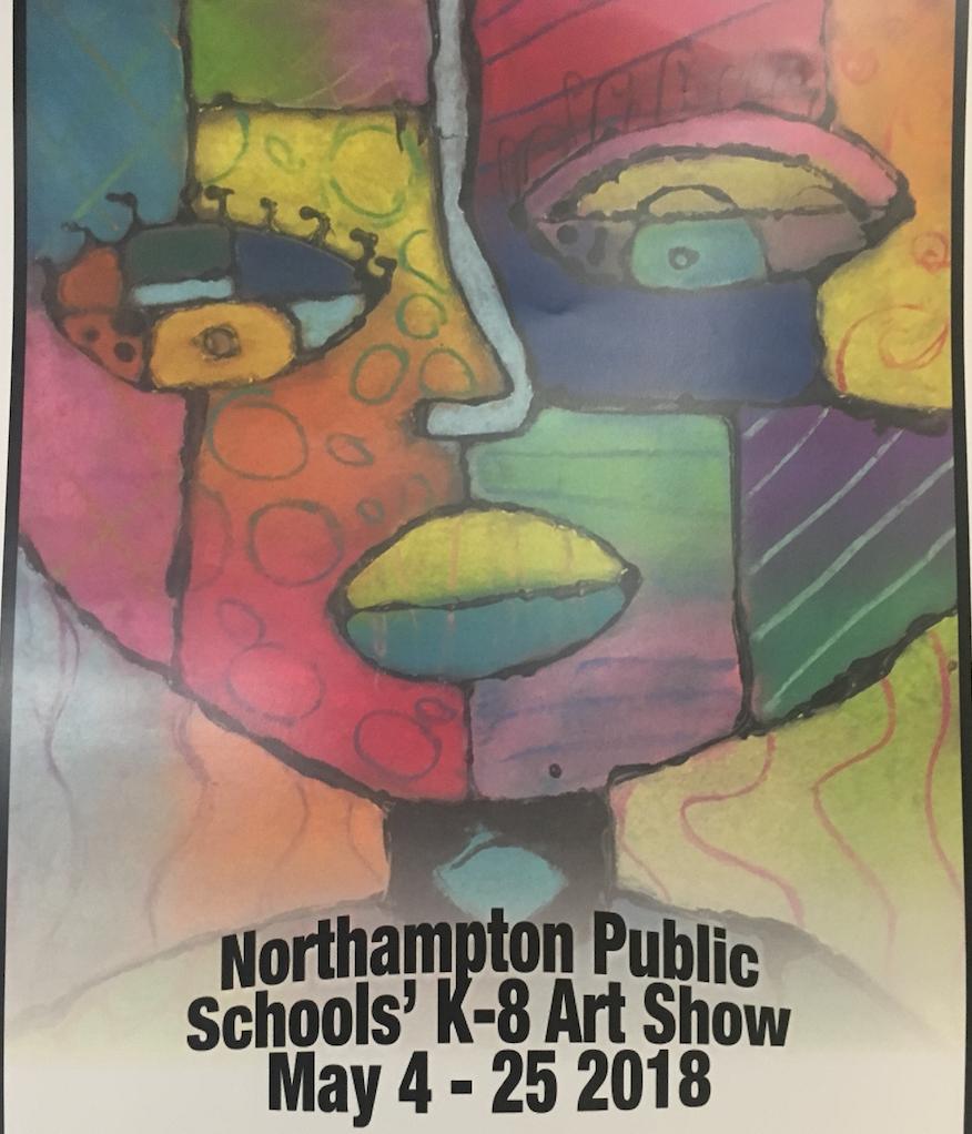 K-12 Art Show at JFK until May 25th