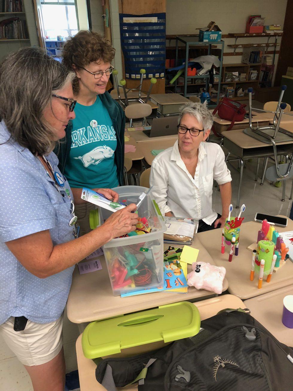 Teachers Taking Time for Tech