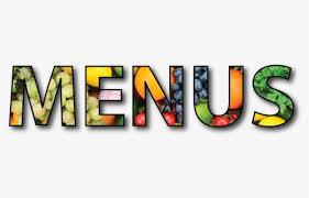 Click on menu you wish to view