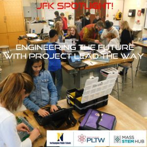 Engineering the Future with Project Lead the Way