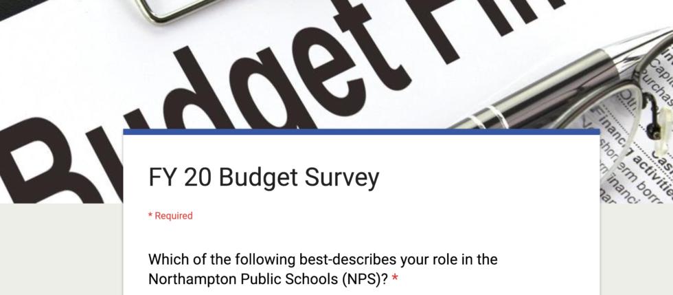 Budget Survey