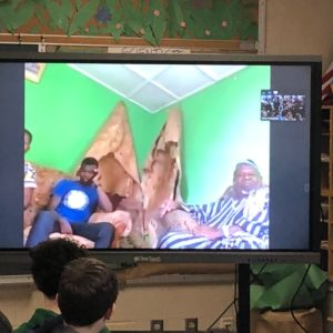 Conferencing with a Ghana Chief!