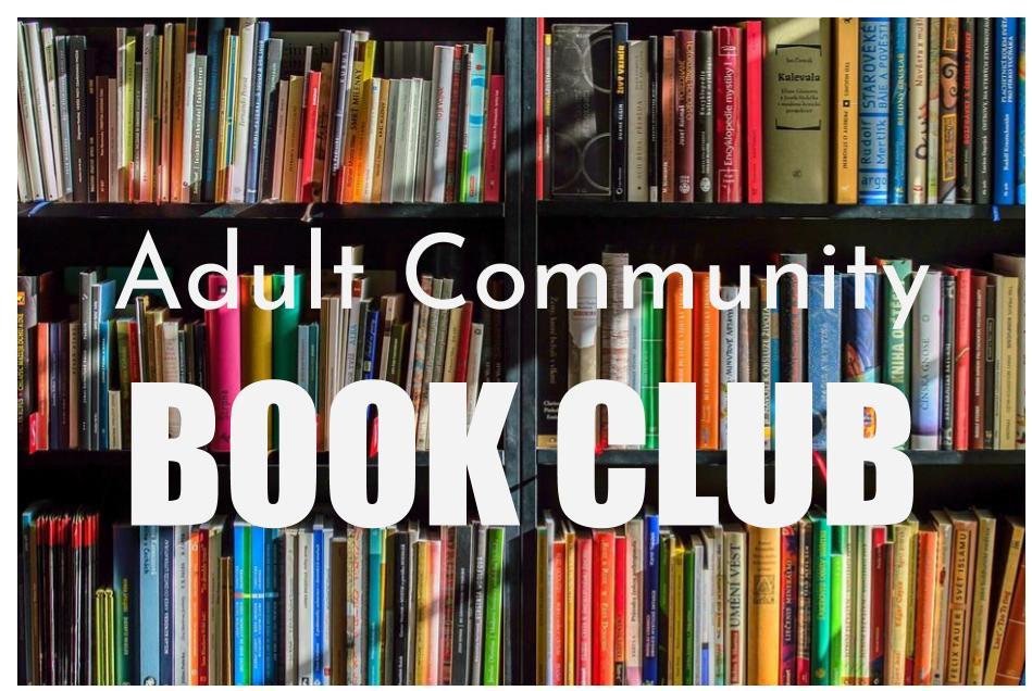Adult Community Book Club
