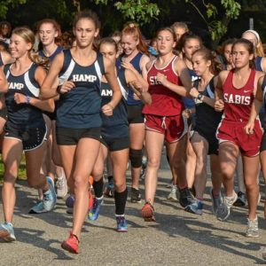 Hampshire Gazette: Mary Yount leads strong opening sweep for Northampton girls cross country team
