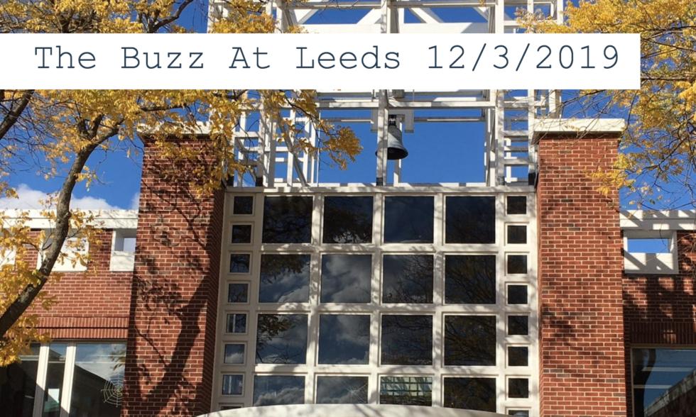 The Buzz at Leeds 12/3/2019