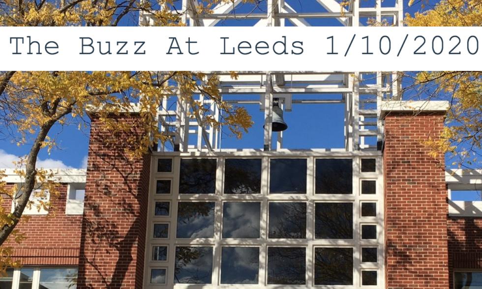 The Buzz At Leeds 1/10/2020
