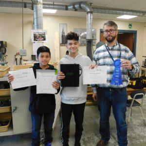 JFK 7th Graders win PLTW Mass STEM Hub Challenge