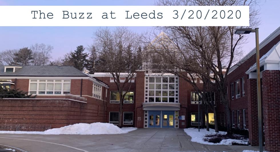 The Buzz at Leeds – 3/20/2020