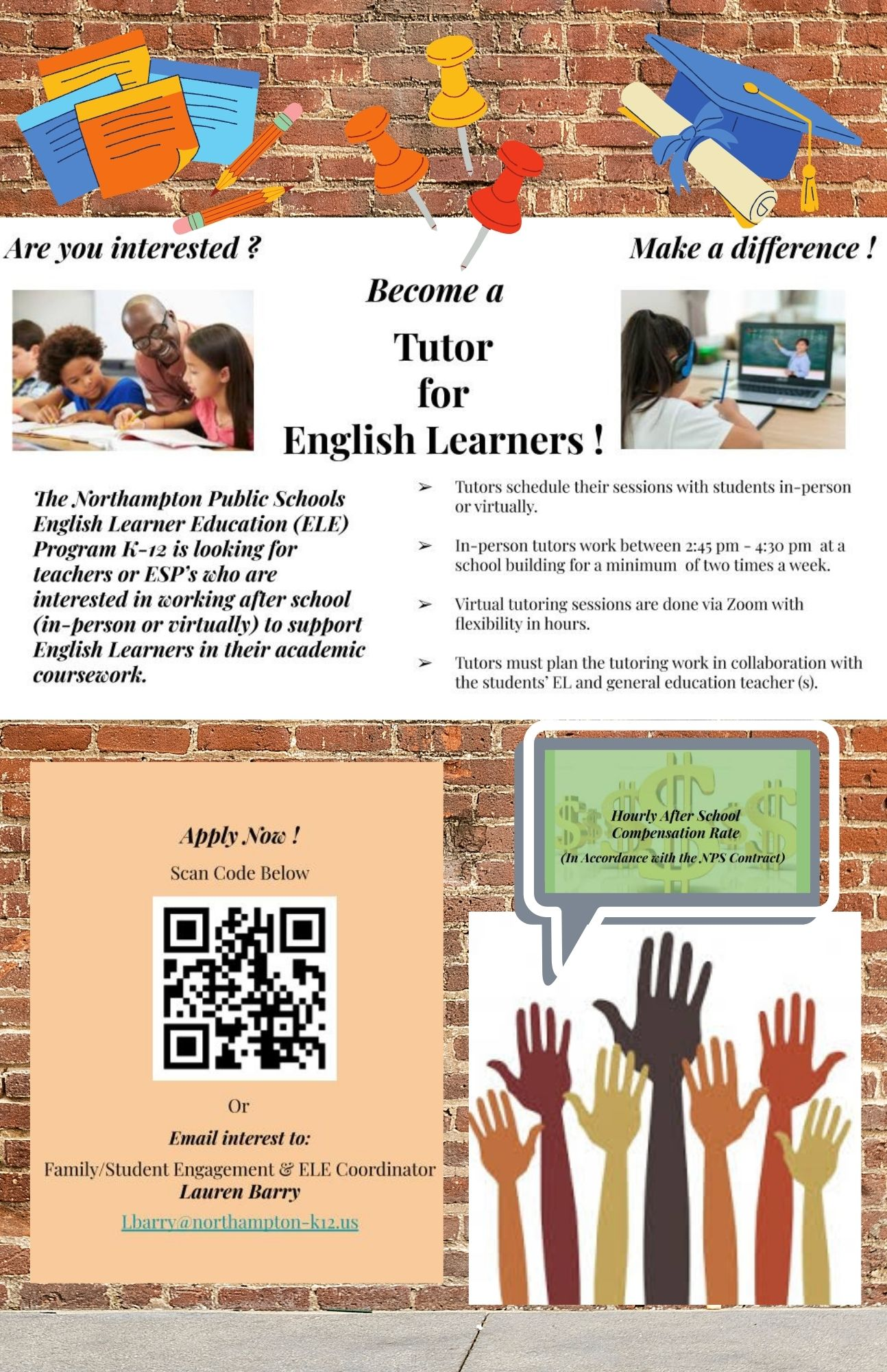 Become a NPS… Tutor for English Learners ! (5)