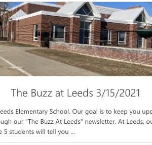 The Buzz at Leeds 3/29/2021