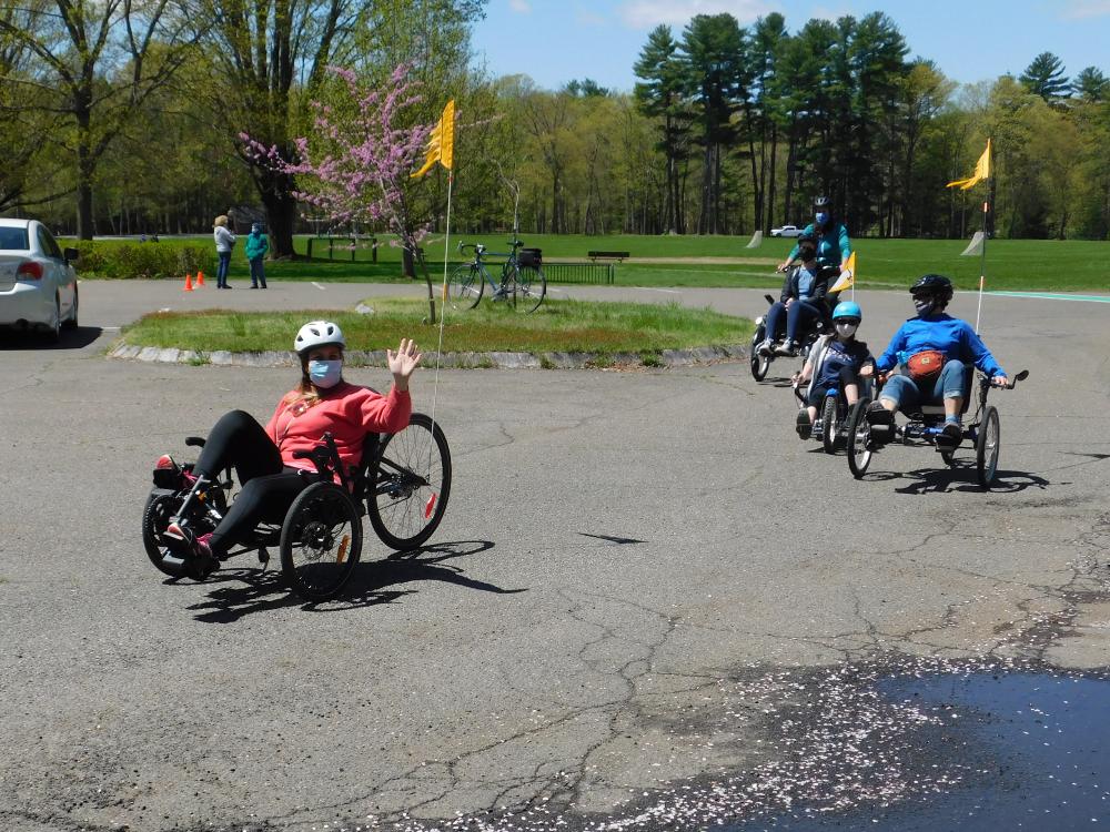 JFK Students Experience Adaptive Cycling